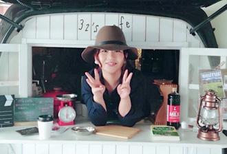 黒文字茶 32's cafeさま